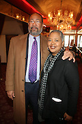l to r: Richard D.Parsons and Kinshasha Holman Conwill at the Apollo Theater 75th Birthday Celebration Press Conference announcing its special anniversary programming across Harlem, New York, and the Nation.