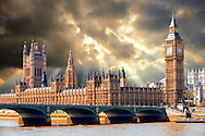Houses of Parliament, Westminster, London .<br /> <br /> Visit our ENGLAND PHOTO COLLECTIONS for more photos to download or buy as wall art prints https://funkystock.photoshelter.com/gallery-collection/Pictures-Images-of-England-Photos-of-English-Historic-Landmark-Sites/C0000SnAAiGINuEQ