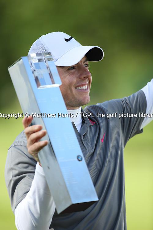 Rory MCILROY (NIR) during fourth round BMW PGA Championship 2014,Wentworth West,Wentworth,Virginia Water,Surrey,England.