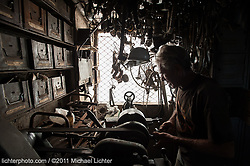 Sergio in his shop. Havana, Cuba. 2011<br /> <br /> Limited Edition Print from an edition of 15. Photo ©2011 Michael Lichter.