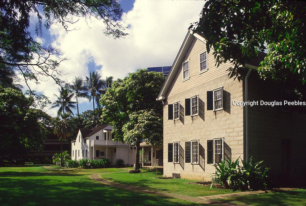 Mission Houses, Honolulu, Oahu, Hawaii<br />