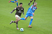 Fussball: 2. Bundesliga, FC St. Pauli - Holstein Kiel, Hamburg, 09.01.2021<br /> Omar Marmoush (Pauli)<br /> © Torsten Helmke