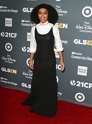 2018 GLSEN Respect Awards at The Beverly Wilshire Hotel in Beverly Hills, California on 10/19/18. 19 Oct 2018 Pictured: Yara Shahidi. Photo credit: River / MEGA TheMegaAgency.com +1 888 505 6342
