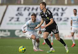 Marcus Gudmann (Kolding IF) under kampen i 1. Division mellem FC Helsingør og Kolding IF den 24. oktober 2020 på Helsingør Stadion (Foto: Claus Birch).