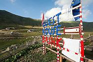 Guesthouse at Dobërdol, Peaks of the Balkans trail, Albania © Rudolf Abraham
