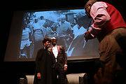 HARLEM, NEW YORK-DECEMBER 9: (L-R) Novella Ford, Associate Director of Programming, the Schomburg Center, a part of the New York Public Library and Designer/Fashion Icon Daniel 'Dapper Dan' Day attend the Heritage Series held at the Schomburg Center, a part of the New York Public Library on December 9, 2019 in Harlem, New York City.   (Photo by Terrence Jennings/terrencejennings.com)