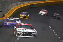 May 26, 2018 - Concord, North Carolina, United States of America - Kaz Grala (61) brings his race car down the front stretch during the Alsco 300 at Charlotte Motor Speedway in Concord, North Carolina. (Credit Image: © Chris Owens Asp Inc/ASP via ZUMA Wire)