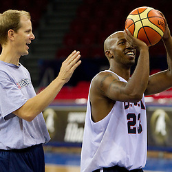 20100827: TUR, Basketball - 2010 FIBA World Championship, Practice of team USA