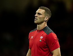 George North of Wales during the pre match warm up<br /> <br /> Photographer Simon King/Replay Images<br /> <br /> Friendly - Wales v England - Saturday 17th August 2019 - Principality Stadium - Cardiff<br /> <br /> World Copyright © Replay Images . All rights reserved. info@replayimages.co.uk - http://replayimages.co.uk