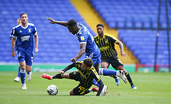 Jayden Mitchell-Lawson of Bristol Rovers tussles for the ball - Mandatory by-line: Arron Gent/JMP - 05/09/2020 - FOOTBALL - Portman Road - Ipswich, England - Ipswich Town v Bristol Rovers - Carabao Cup