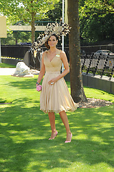 ISABELL KRISTENSEN at the second day of the 2010 Royal Ascot Racing festival at Ascot Racecourse, Berkshire on 16th June 2010.