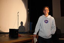 MDI Marathon: Zoe Romano speaks at Pasta Dinner