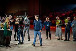 L'Année Hippique Awards<br /> Van der Net Inge, Guerdfat Steve, Best Rider of the Year<br /> CHI Genève 2019<br /> © Hippo Foto - Dirk Caremans<br />  14/12/2019