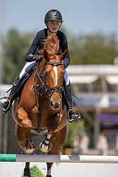 Ameeuw Louise, BEL, Nice van't Zorgvliet<br /> Belgisch Kampioenschap Jeugd Azelhof - Lier 2020<br /> <br /> © Hippo Foto - Dirk Caremans<br /> 30/07/2020