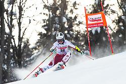 Julia Scheib (AUT) during Ladies' Giant Slalom at 57th Golden Fox event at Audi FIS Ski World Cup 2020/21, on January 17, 2021 in Podkoren, Kranjska Gora, Slovenia. Photo by Vid Ponikvar / Sportida