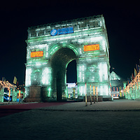 Harbin Ice Festival, Harbin City, Heilongjiang Province, Northeast China