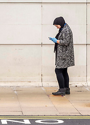 Social distancing does not mean you have to be socially distant thanks to mobile phones.  Shoppers are getting used to the new social distancing guidance.  As a nation which has been used to queing for centuries it has not been a problem to give people extra space.