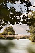 Bridge on Marne River in France