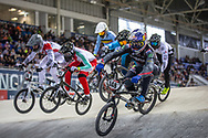 #148 (VAN GENDT Twan) NED at Round 2 of the 2019 UCI BMX Supercross World Cup in Manchester, Great Britain
