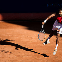 22.10.2016, Red Bull - New photographer, Dustin Brown during the game of the ATP Tour Gstaad, Switzerland. (Robert Hradil)