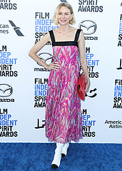 SANTA MONICA, LOS ANGELES, CALIFORNIA, USA - FEBRUARY 08: Actress Naomi Watts wearing a Chanel outfit with Azza Fahmy jewelry arrives at the 2020 Film Independent Spirit Awards held at the Santa Monica Beach on February 8, 2020 in Santa Monica, Los Angeles, California, United States. 08 Feb 2020 Pictured: Naomi Watts. Photo credit: Xavier Collin/Image Press Agency/MEGA TheMegaAgency.com +1 888 505 6342