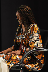April 4, 2017 - Mexico City, Mexico - Concha Buika attends at press conference to promote the Buika siphonic tour at Spanish Cultural Center on April 04, 2017 in Mexico City, Mexico  (Credit Image: © Carlos Tischler/NurPhoto via ZUMA Press)