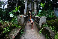 Edy Angely at Parque lage , Rio do Janeiro