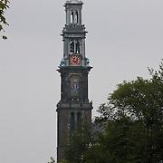 NLD/Amsterdam/20110806 - Canalpride Gaypride 2011, Westerkerk aan de Prinsengracht in Amsterdam