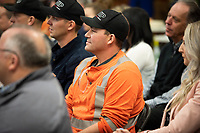 Premier John Horgan thanks the team and affiiliates at BC Hydro in Nanaimo for outstanding service in the December windstorm.