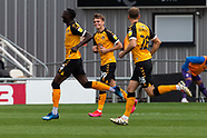 Newport County v Tranmere Rovers 171020