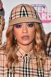 Rita Ora attending the BBC Radio 1 Teen Wards, at Wembley Arena, London. Picture date: Sunday October 22nd, 2017. Photo credit should read: Matt Crossick/ EMPICS Entertainment.