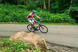 09-06-2018 NED: Sportkamp BvdGF, Landgraaf<br /> Sportkamp van BvdGF met klimmen, snowboarden, skien, voetbal en sportevents /
