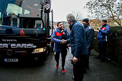 Bristol City head coach Lee Johnson arrives at St Andrew's Stadium - Mandatory by-line: Robbie Stephenson/JMP - 08/12/2018 - FOOTBALL - St Andrew's Stadium - Birmingham, England - Birmingham City v Bristol City - Sky Bet Championship