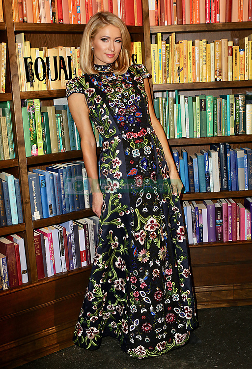 February 13, 2018 - New York, NY, United States - February 13, 2018 New York City....Paris Hilton attends the Alice and Olivia By Stacey Bendet Presentation during 2018 New York Fashion Week on February 13, 2018 in New York City  (Credit Image: © Nancy Rivera/Ace Pictures via ZUMA Press)