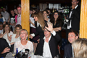 TRUDIE STYLER; HUGH GRANT BIDDING, The Hoping Foundation  'Rock On' benefit evening for Palestinian refugee children.  Cafe de Paris, Leicester Sq. London. 20 June 2013