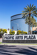 Pacific Arts Plaza On Park Center Drive And Plaza Tower In Costa Mesa