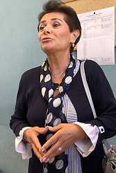 LUCIA PANIGALLI IN AULA<br /> UDIENZA TENTATO OMICIDIO LUCIA PANIGALLI
