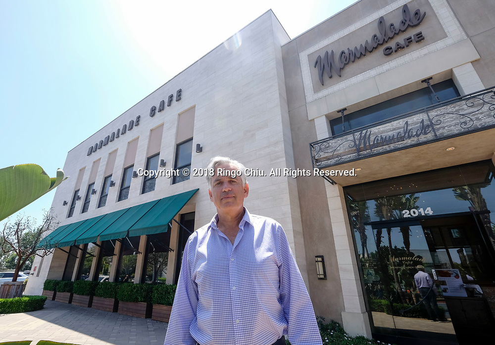 Selwyn Yosslowitz, owner, Marmalade Café in El Segundo.(Photo by Ringo Chiu)<br /> <br /> Usage Notes: This content is intended for editorial use only. For other uses, additional clearances may be required.