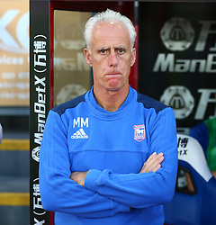 August 22, 2017 - London, England, United Kingdom - Ipswich Town manager Mick McCarthy .during Carabao Cup 2nd Round   match between Crystal Palace and Ipswich Town at Selhurst Park Stadium, London,  England on 22 August 2017. (Credit Image: © Kieran Galvin/NurPhoto via ZUMA Press)