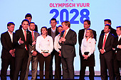 Prins van Oranje bij Olympisch Vuur Jaarcongres 2012