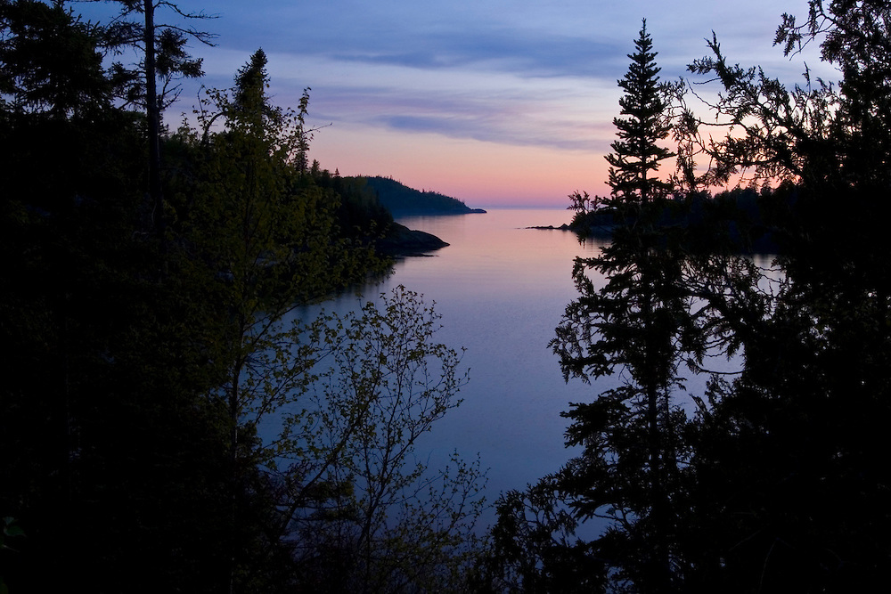 Chalfant Cove in Lake Superior Provincial Park near Wawa Ontario Canada.