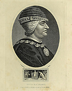 """Louis XI of France Louis XI (3 July 1423 – 30 August 1483), called """"Louis the Prudent"""" (French: le Prudent), was King of France from 1461 to 1483. He succeeded his father, Charles VII. Copperplate engraving From the Encyclopaedia Londinensis or, Universal dictionary of arts, sciences, and literature; Volume VII;  Edited by Wilkes, John. Published in London in 1810"""
