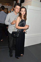 SARAH STANBURY and FENTON BAILEY at the Tiffany & Co. Exhibition 'Fifth And 57th' Opening Night held in The Old Selfridges Hotel, Orchard Street, London on 1st July 2015.