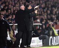 Photo: Olly Greenwood.<br />Southend United v Manchester United. Carling Cup. 07/11/2006. Manchester United manager Alex Ferguson