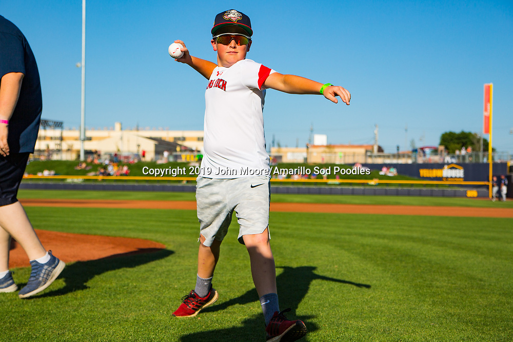The Amarillo Sod Poodles played against the Northwest Arkansas Travelers on Saturday, July 20, 2019, at HODGETOWN in Amarillo, Texas. [Photo by John Moore/Amarillo Sod Poodles]