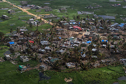 An aerial view of Beira City after it was hit by Cyclone Idai last week. The deadly cyclone and hammering rains have left more than 1000 people dead in Mozambique alone. It is one of the largest humanitarian disasters the region has ever faced. It is estimated by the UN that 350,000 people are still at risk. UNICEF warned that 900,000 children have been affected; either orphaned, separated from their families or lacking basic necessities.