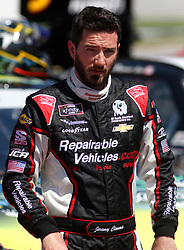 April 28, 2018 - Talladega, AL, U.S. - TALLADEGA, AL - APRIL 28: Jeremy Clements, Jeremy Clements Racing, Chevrolet Camaro RepairableVehicles.com during qualifying for the 27th annual Sparks Energy 300 on Saturday April 28, 2018 at Talladega Superspeedway in Talladega, Alabama (Photo by Jeff Robinson/Icon Sportswire) (Credit Image: © Jeff Robinson/Icon SMI via ZUMA Press)