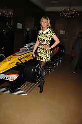 LADY ALEXANDRA SPENCER-CHURCHILL at a party to celebrate the first year if ING's sponsorship of the Renault Formula 1 team, held at the Mayfair Hotel, Stratton Street, London W1 on 28th November 2007.<br />