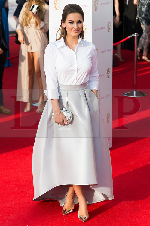 © Licensed to London News Pictures. 08/05/2016. London, UK. SAM FAIERS attends the BAFTA Television Awards 2016. Photo credit: Ray Tang/LNP
