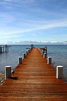 March 2014 Kings Beach North Shore Lake Tahoe.